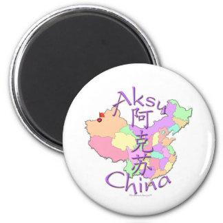 Aksu China 2 Inch Round Magnet