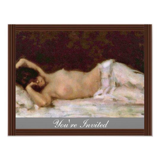 Akt By Grigorescu Nicolae (Best Quality) Card