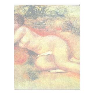 Akt de Pierre-Auguste Renoir (la mejor calidad) Membrete