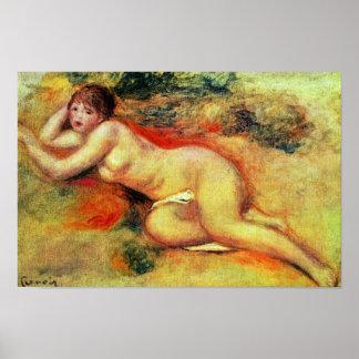 Akt de Pierre-Auguste Renoir (la mejor calidad) Impresiones