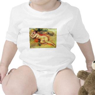 Akt de Pierre-Auguste Renoir (la mejor calidad) Trajes De Bebé