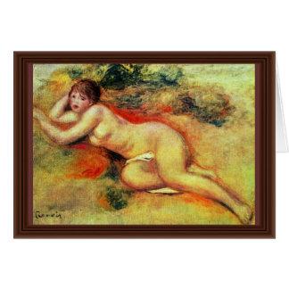 Akt de Pierre-Auguste Renoir (la mejor calidad) Tarjeton