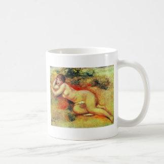 Akt de Pierre-Auguste Renoir (la mejor calidad) Taza