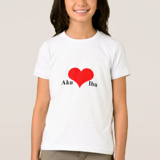 Aku Cinta Ibu T-Shirt