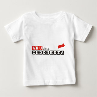 aku cinta indonesia baby T-Shirt