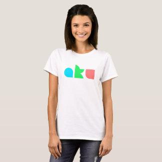 AKU Colour Logo Basic White T Female T-Shirt