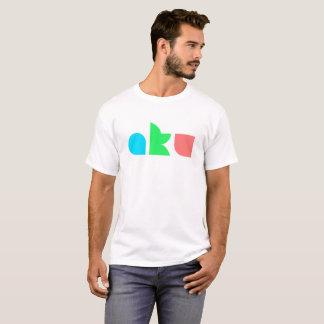 AKU Colour Logo Basic White T Male T-Shirt