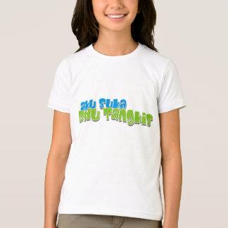 aku suka bulu tangkis T-Shirt