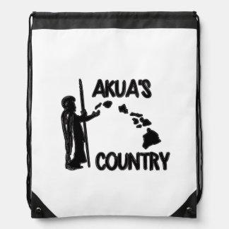 Akua's Country Drawstring Backpack