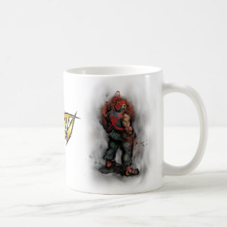 Akuma Back Classic White Coffee Mug