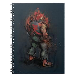 Akuma Back Spiral Notebook