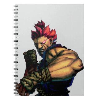 Akuma Blocking Notebook