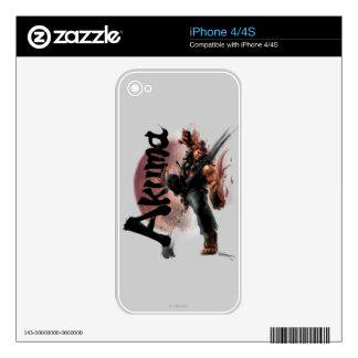 Akuma Decal For The iPhone 4