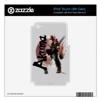 Akuma Decals For iPod Touch 4G