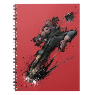 Akuma Kick Spiral Notebooks
