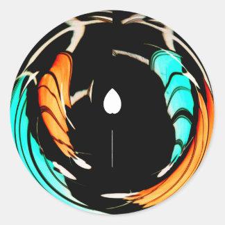 Akuna Matata gift latest beautiful amazing colors. Classic Round Sticker
