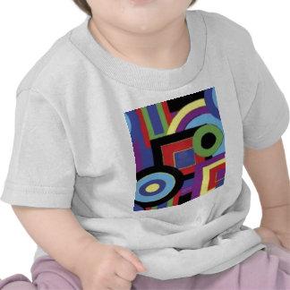 Akwa Block Geo Trip Tee Shirt