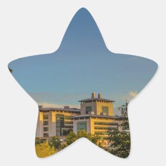 Al aire libre pegatina en forma de estrella