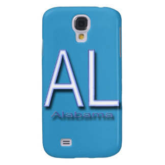 AL Alabama blue Samsung Galaxy S4 Cover