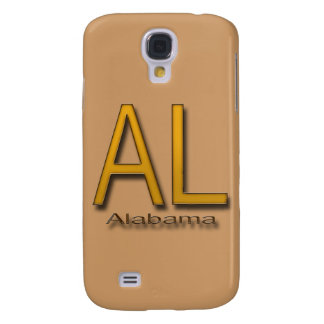 AL Alabama gold Galaxy S4 Cover