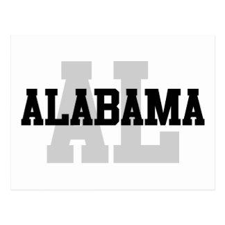 AL Alabama Postcard