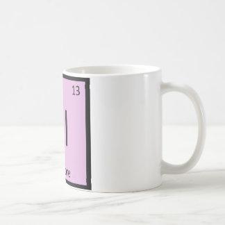 Al - Albacore Tuna Chemistry Periodic Table Symbol Coffee Mug