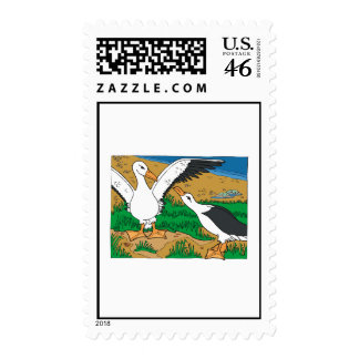 Al Ally Albatross Postage Stamp