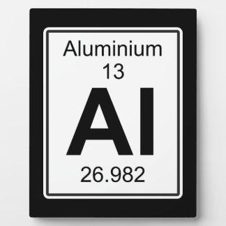 Al - Aluminium Plaque