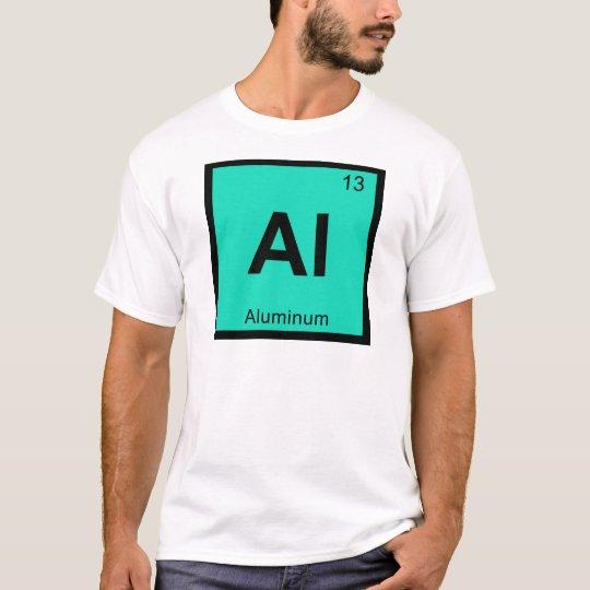 Al Aluminum Chemistry Periodic Table Symbol T Shirt Zazzle