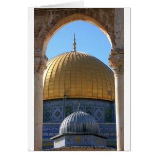 Al-Aqsa de Masjid Tarjeta De Felicitación