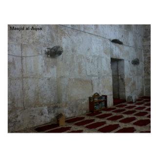 Al-Aqsa de Masjid Tarjeta Postal