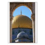 Al-Aqsa de Masjid Tarjetón