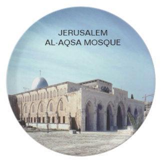 Al-Aqsa Mosque Party Plates