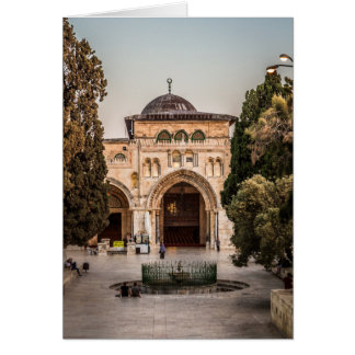 Al-Aqsa Tarjeta De Felicitación