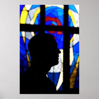 Al Asad, Iraq de la capilla @ Póster