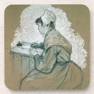 """""""Al autor de St. Lazare, 1886-89"""", s posible Posavasos"""