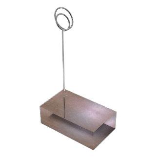 Al azar algo piso soporte para tarjeta de mesa