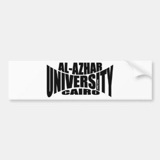 Al Azhar University Bumper Sticker