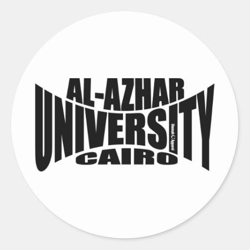 Al Azhar University Classic Round Sticker