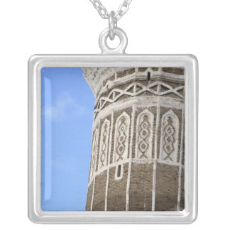 Al Bakiriya Mosque in Old Sana'a, Yemen Silver Plated Necklace