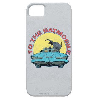 Al Batmobile - icono apenado iPhone 5 Funda