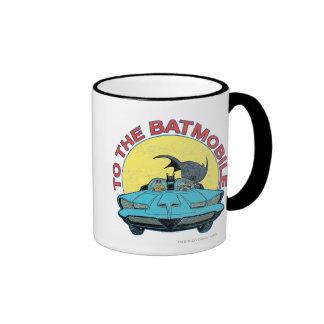 Al Batmobile - icono apenado Taza De Café