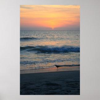 Al borde de la puesta del sol II Impresiones