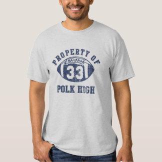 Al Bundy Property Of Polk High Number 33 Tees
