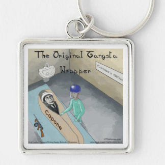 Al Capone Funeral Funny Key Chains