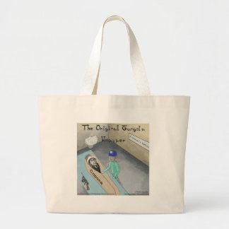 Al Capone Funeral Funny Large Tote Bag
