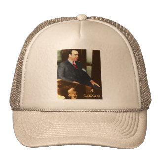 Al Capone - la cara real de la cicatriz Gorro