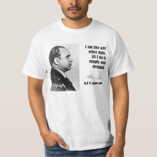 Al Capone on Business - Gangster Shirt