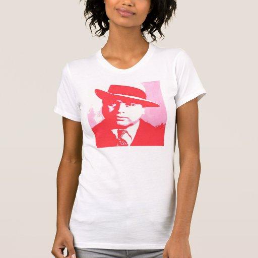 Al capone pop art t shirt zazzle for T shirt printing mobile al