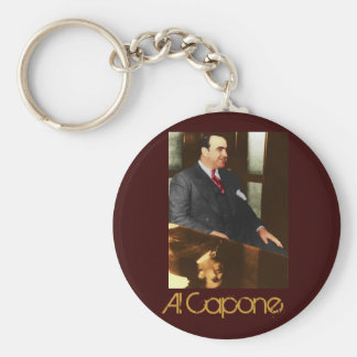 Al Capone - the real Scar Face Keychain